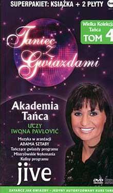 Okładka książki Taniec z gwiazdami. Jive. T. 4 + 2CD