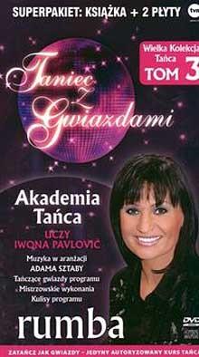 Okładka książki Taniec z gwiazdami. Rumba. T. 3 + 2CD
