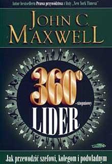 Okładka książki 360 stopniowy lider