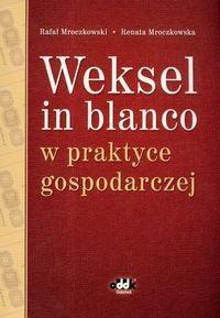 Okładka książki Weksel in blanco w praktyce gospodarczej