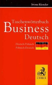Okładka książki Taschenwörterbuch Business Deutsch