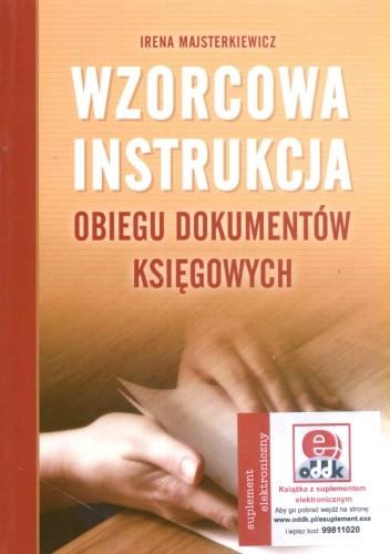 Okładka książki Wzorcowa instrukcja obiegu dokumentów księgowych