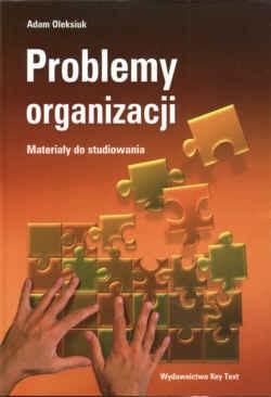 Okładka książki Problemy organizacji Materiały do studiowania