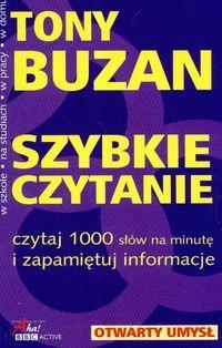 Okładka książki Szybkie czytanie czytaj 1000 słów na minutę