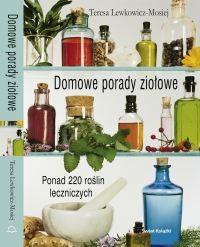 Okładka książki Domowe porady ziołowe