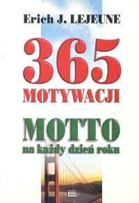 Okładka książki 365 motywacji. Motto na każdy dzień roku