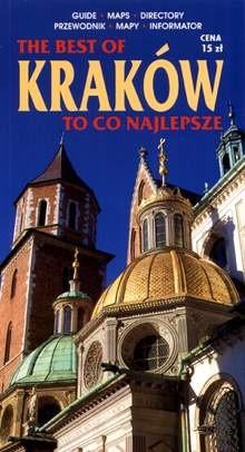 Okładka książki Kraków. To co najlepsze