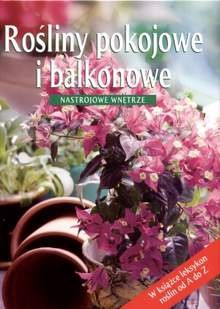 Okładka książki Rośliny pokojowe i balkonowe