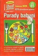 Okładka książki Porady babuni. Tom X. Domowe SOS. 647 sprawdzone sposoby
