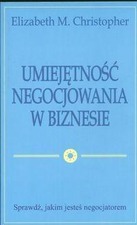 Okładka książki Umiejętność negocjowania w biznesie