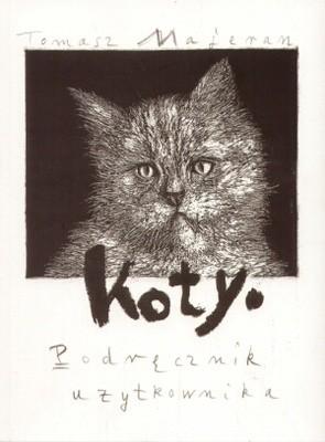 Okładka książki Koty. Podręcznik użytkownika