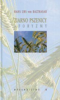 Okładka książki ziarno pszenicy. Aforyzmy