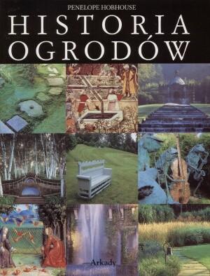 Okładka książki Historia ogrodów