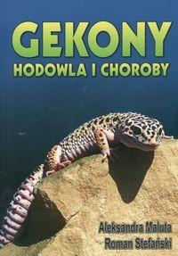 Okładka książki Gekony. Hodowla i choroby