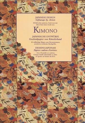Okładka książki Kimono Japanese design