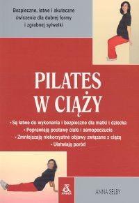 Okładka książki Pilates w ciąży