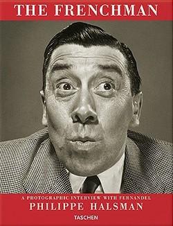 Okładka książki The Frenchman. A photographic interview with Fernandel