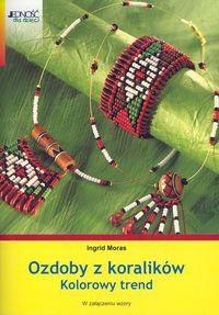 Okładka książki Ozdoby z koralików. Kolorowy trend