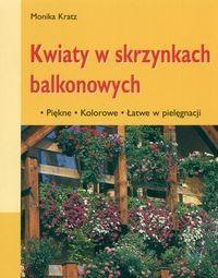 Okładka książki Kwiaty w skrzynkach balkonowych