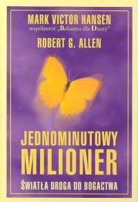 Okładka książki Jednominutowy milioner