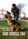Okładka książki Sam szkolę psa
