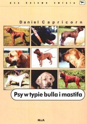 Okładka książki Psy w typie bulla i mastifa