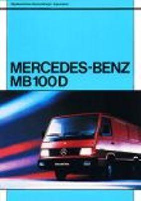 Okładka książki Mercedes-Benz MB 100 D