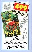 Okładka książki 499 porad dla miłośników ogrodów