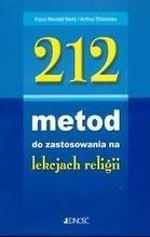 Okładka książki 212 metod do zastosowania na lekcjach religii