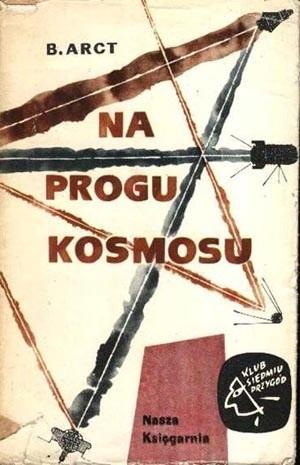 Okładka książki Na progu kosmosu