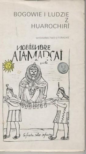 Okładka książki Bogowie i ludzie z Huarochirí