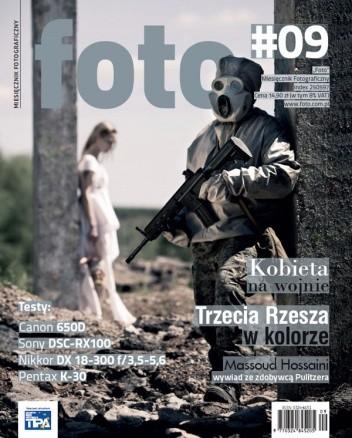 Okładka książki foto, nr 09/wrzesień 2012