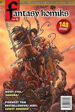 Okładka książki Fantasy Komiks t.15
