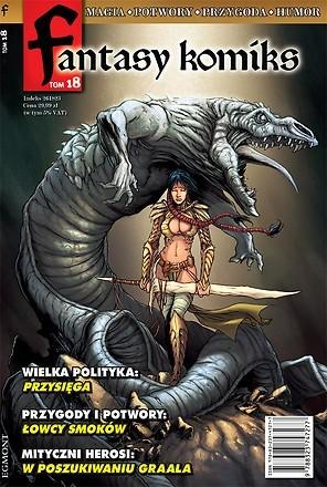 Okładka książki Fantasy Komiks t.18