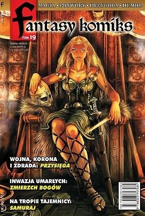 Okładka książki Fantasy Komiks t.19
