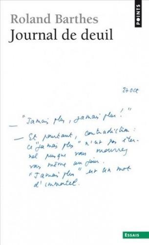 Okładka książki Journal de deuil