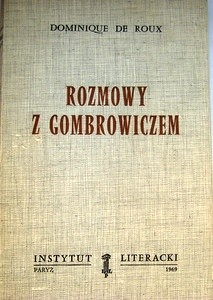 Okładka książki Rozmowy z Gombrowiczem