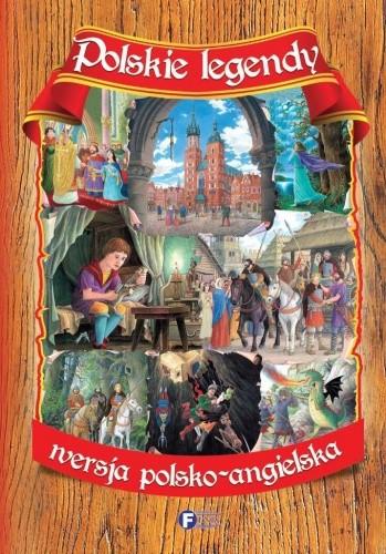 Okładka książki POLSKIE LEGENDY WERSJA POLSKO-ANGIELSKA