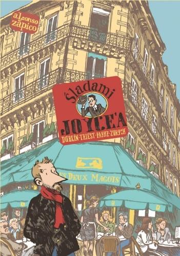 Okładka książki Śladami Joyce'a