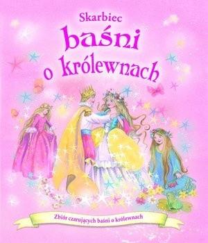 Okładka książki Skarbiec baśni o królewnach
