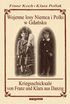 Okładka książki Wojenne losy Niemca i Polki w Gdańsku