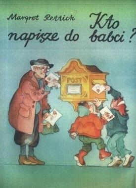 Okładka książki Kto napisze do babci?