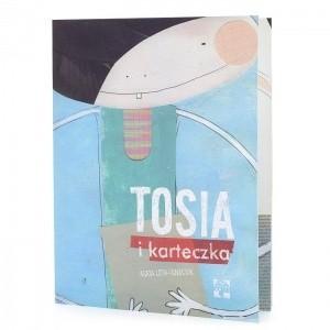 Okładka książki Tosia i karteczka