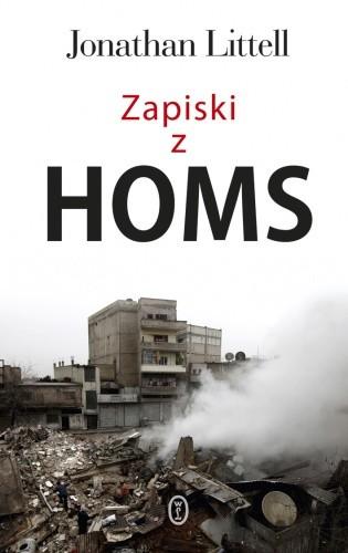 Okładka książki Zapiski z Homs