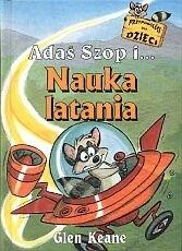 Okładka książki Adaś Szop i nauka latania