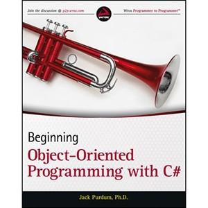 Okładka książki Beginning Object-Oriented Programming with C#