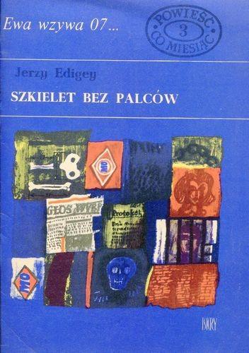 Okładka książki Szkielet bez palców