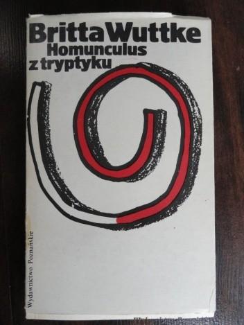 Okładka książki Homunculus z tryptyku