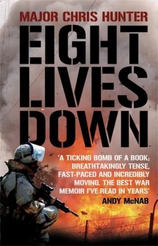 Okładka książki Eight lives down