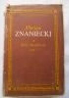 Pisma filozoficzne tom 2, Humanizm i poznanie, Rzeczywistość kulturowa i inne pisma filozoficzne,